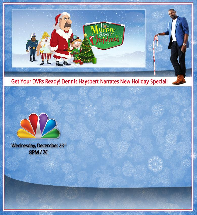 How Murray Saved Christmas.Dennis Haysbert Narrates How Murray Saved Christmas